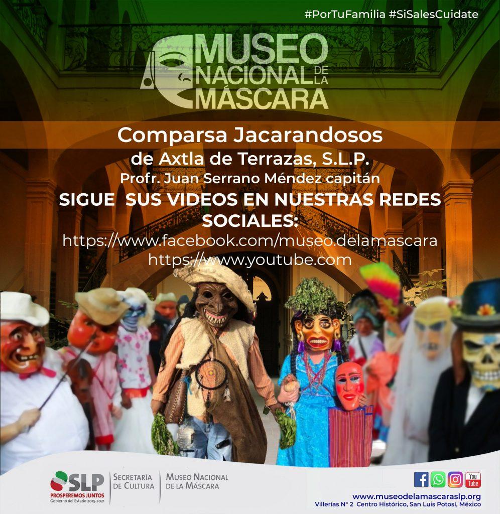 Sigue las publicaciones en las redes sociales del Museo Nacional de la Máscara